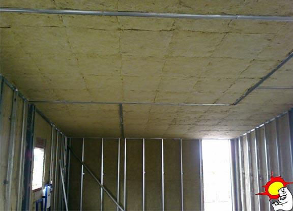 Forjados de techos aislamiento t rmico y ac stico - Lana de roca aislante termico ...